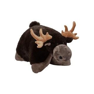 """18"""" Chocolate Moose Pillow Pet"""