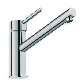 WS Bath Collections Linea 5403  Linea Single Handle Bathroom Faucet - Polished Chrome