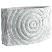 Cyan Design Large Illusionary Planter Illusionary 10.5 Inch Tall Cement Planter