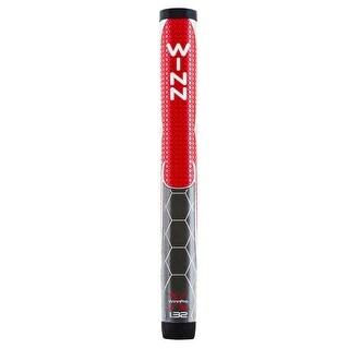 """Winn Pro X 1.32"""" Red/Gray Putter Golf Grip"""