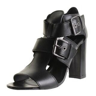 Modern Vintage Womens Germaine Heels Leather Strappy