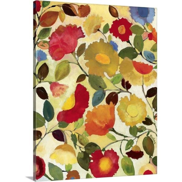 """""""Tuscan Garden"""" Canvas Wall Art"""