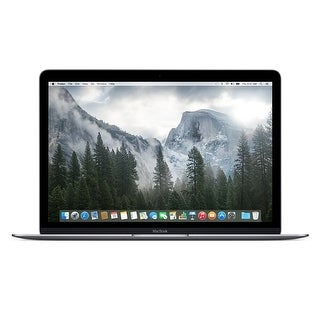 Apple Macbook 12-inch 256GB Intel Core M Dual-Core Laptop - Space Gray (Certified Refurbished)