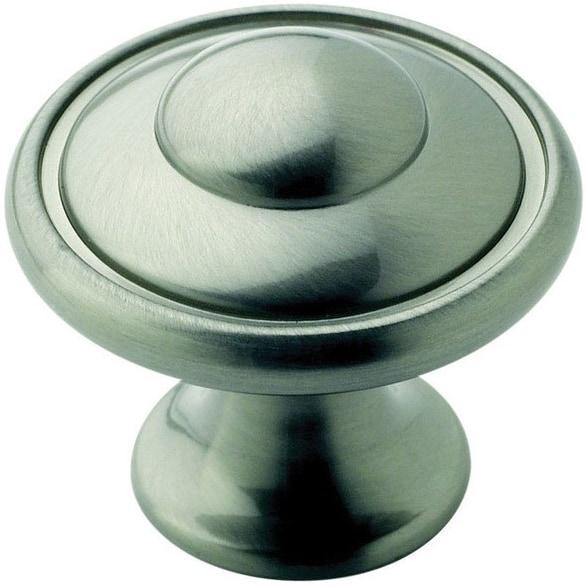 surprising Round Cabinet Knob Part - 17: Amerock BP53002G10 Allison Round Cabinet Knob, Satin Nickel