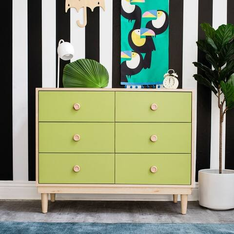 Taylor & Olive Barberry Hand-crafted 6-drawer Dresser