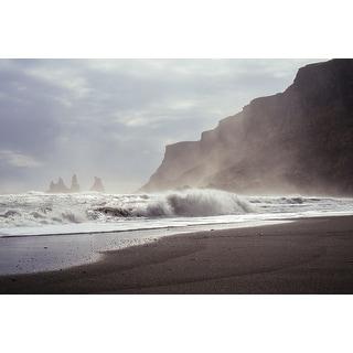 Beach Coast And Waves Photograph Art Print