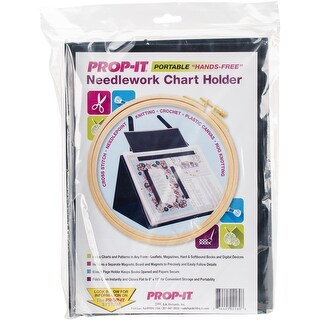 Prop-It Crochet/Knitting/Needle Arts Pattern Holder-