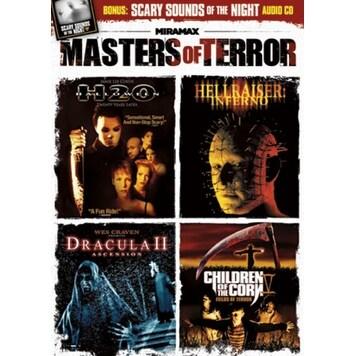 Masters of Terror [DVD]
