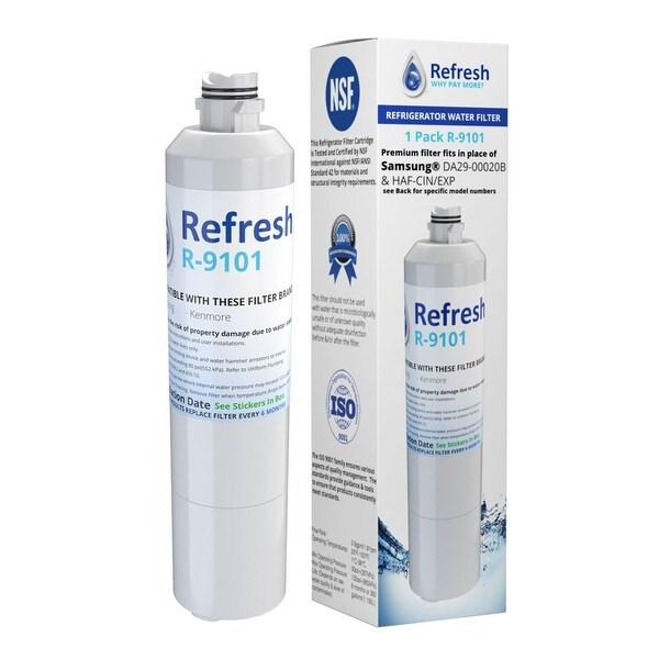 HAF-CIN//EXP Premium Refrigerator Water Filter Samsung DA29-00020B White, 2 pack