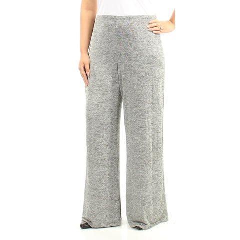 Womens Silver Party Pants Size L