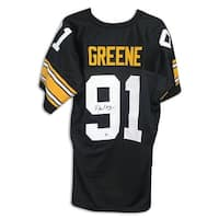 Kevin Greene Pittsburgh Steelers Autographed Black Jersey