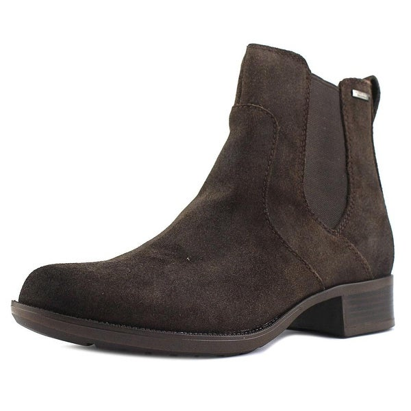 Rockport Christine Women Round Toe Leather Brown Bootie