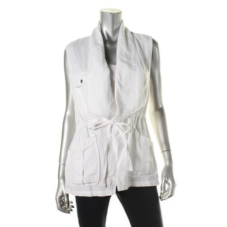 Sanctuary Womens Woven Lightweight Casual Vest