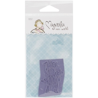"Mini Princes & Princesses Cling Stamp 2.75""X5.75 Package-Jester Tilda"