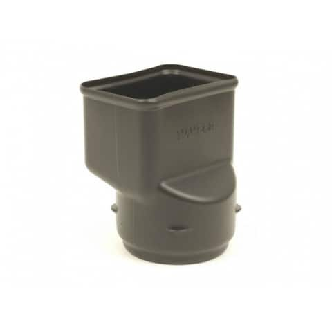 """ADS 0464AA Downspout Adapter, 2"""" x 3"""" x 4"""""""