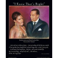 ''I Know That's Right'' by Batteryman African American Art Print (22 x 18 in.)