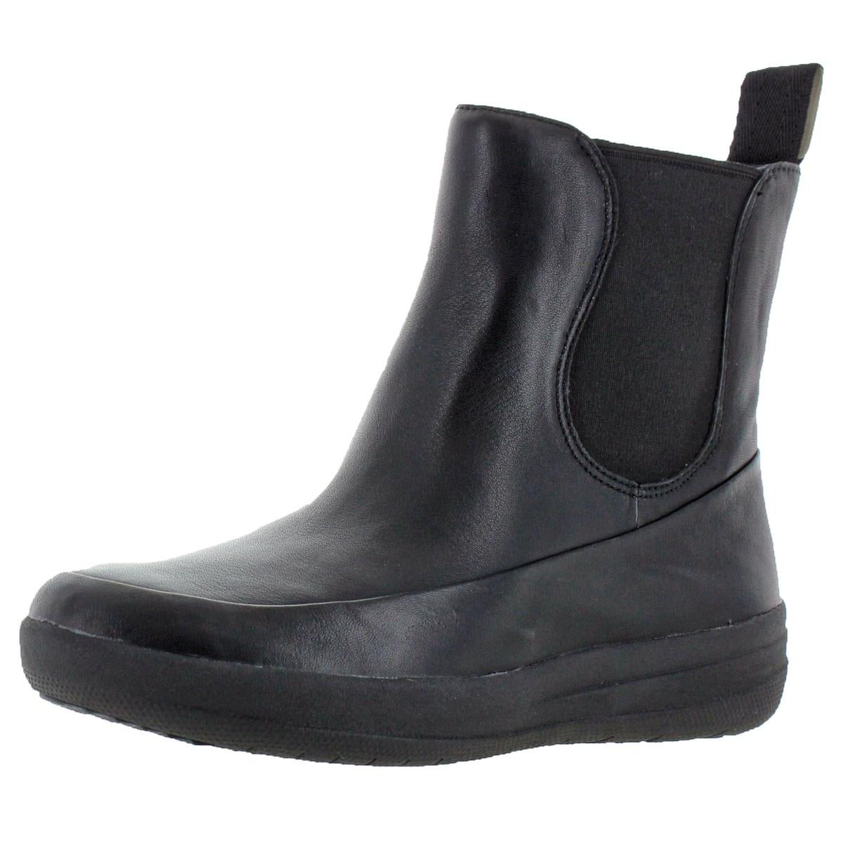 unequal in performance double coupon shop for official FF2 by FitFlop Womens FF-Lux Chelsea Boots Solid Pull On