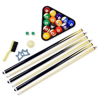 Carmelli NG2543 Pool Table Billiard Accessory Kit, Multicolor