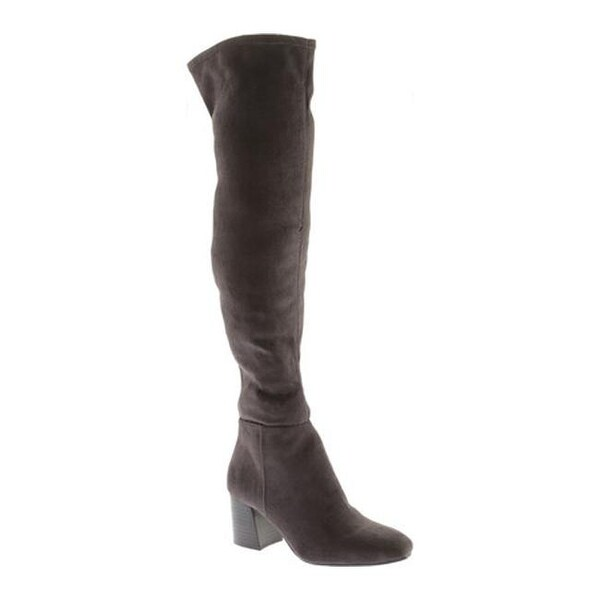 38a00898644 Vince Camuto Women  x27 s Kantha Over The Knee Boot Granite Peak Stretch  Microsuede