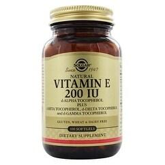Solgar - Vitamin E 200 IU Mixed Softgels (200 IU d-Alpha Tocopherol & Mixed Tocopherols) - 100