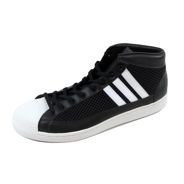 Adidas Men's Tennis Vintage Hi James Bond David Beckham Black/White-Black G09476 Size 13