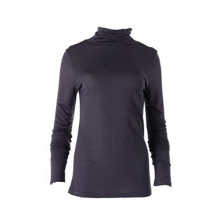 Dylan Gray Womens Turtleneck Top Jersey Long Sleeves - xs