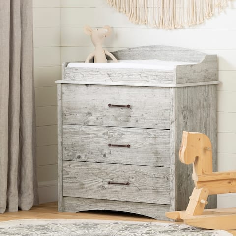 South Shore Helson Changing Table with Drawers