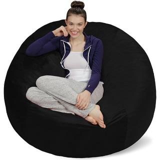 Link to 5-foot Bean Bag Chair Large Memory Foam Bean Bag Similar Items in Kids' & Toddler Furniture