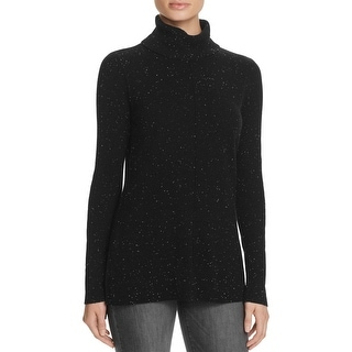 Calvin Klein NEW Black Women's Size Large L Turtleneck Ribbed Sweater