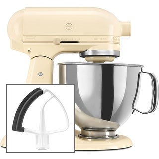 10 Speed 5 Qt. Stand Mixer with Direct Drive Transmission and Flex Edge Beater from the Artisan Series