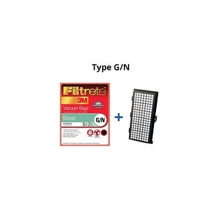 Filtrete Miele G/N Synthetic Bags and Filters Kit