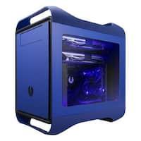 BitFenix  Prodigy M Window No Power Supply Micro ATX Case, Blue
