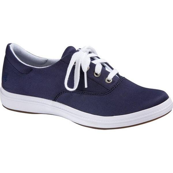 df5500bf2 Shop Grasshoppers Women s Janey II Sneaker Navy Stretch Twill - On ...