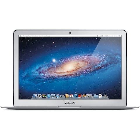 Apple MacBook Air MC965LL/A Intel Core i5-2557M 2nd Gen X2 1.7GHz 4GB 128GB, Silver (Refurbished)