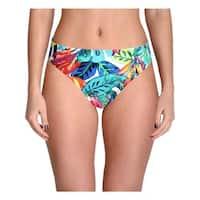 Lauren Ralph Lauren Womens Rainforest Print Hipster Swim Bottom Separates