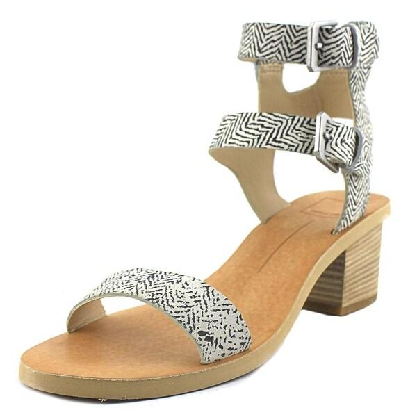 Dolce Vita West Black/ White Sandals
