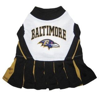 NFL Baltimore Ravens Cheerleader Dress For Dogs And Cats