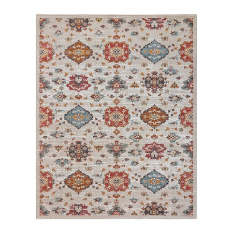 "Avenue 33 Vinca Cayla Taupe Area Rug (4'11""x7'2"") by Gertmenian"