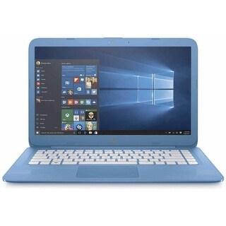 "Manufacturer Refurbished - HP Stream 14-AX010WM 14"" Laptop Intel Celeron N3060 1.6GHz 4GB 32GB eMMC Win10"