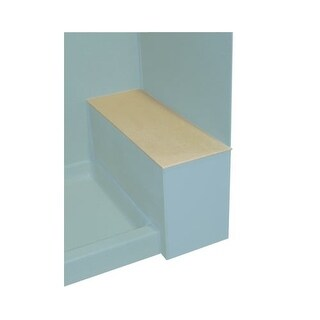 """Swanstone SB-1248 12-3/4"""" x 48"""" Shower Bench Seat Top Only"""