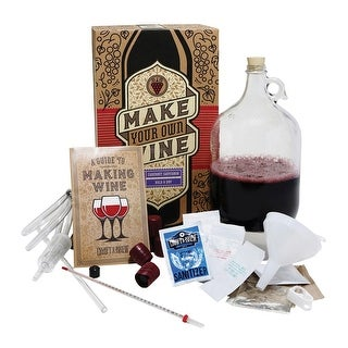 Craft A Brew - Cabernet Sauvignon Wine Making Kit - Make Your Own Wine