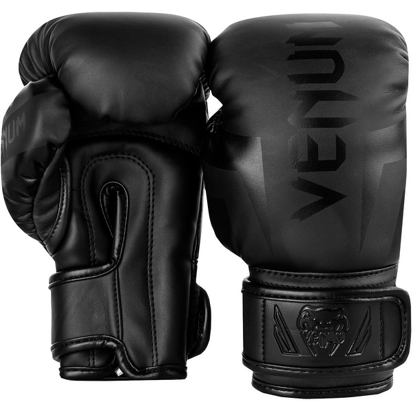 Pink//White Venum Challenger 2.0 Hook and Loop MMA Training Boxing Gloves