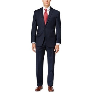 Michael Kors Mens Two-Button Suit Wool 2PC - 46r