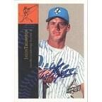 Jason Thompson Rancho Cucamonga Quakes Padres Affiliate 1994 Fleer Excel Autographed Card Minor L