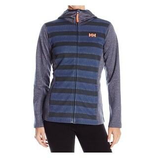 Helly Hansen NEW Blue Womens Medium M Fleece Athletic Hoodie Jacket