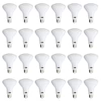Sunco Lighting BR30 LED 11W 4000K Cool White Dimmable Flood (Set of 24)