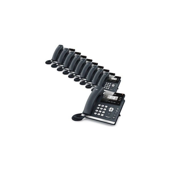 Yealink SIP-T42G-AC (10 Pack) Ultra-Elegant Gigabit IP Phone
