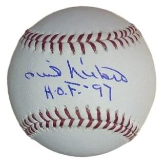Phil Niekro Autographed OML Baseball WHOF 97 Atlanta Braves