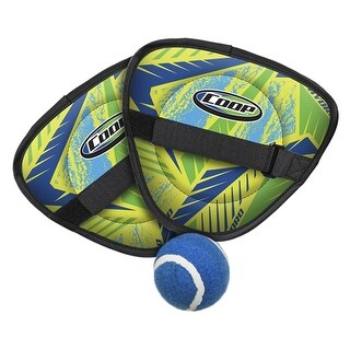 """7.75"""" Taper Blue and Yellow Coop Hydro Catch Swimming Pool Game"""