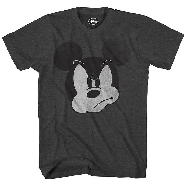 5b1849e1 Shop Disney Mad Mickey Mouse Adult Men's T-Shirt - Free Shipping On Orders  Over $45 - Overstock - 22811856